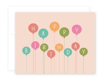 Happy Birthday // Balloons