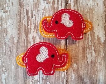 Elephant snap clip