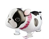 French Bulldog Walking Dog Balloon, Dog Party Supplies, Frenchie, Dog Birthday Party, Dog Themed Party Supplies, Funny Balloon