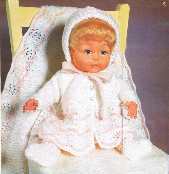Vintage Knitting Patterns Dolls Clothes : VINTAGE KNITTING Pattern BOOK , Dolls Clothes Patterns ...