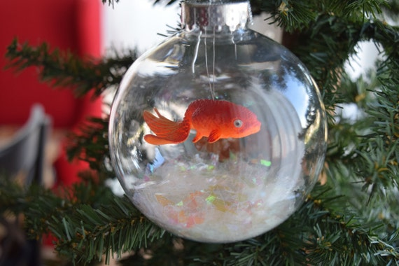 Koi fish bowl ornament large for Koi fish ornament