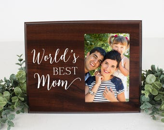 Mom Picture Frame Worlds Best Mom