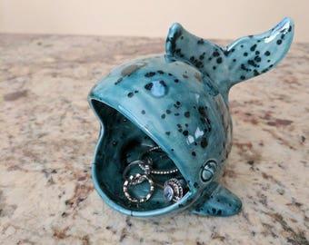 Whale Scrubby Holder - Sponge holder - Ceramic Whale