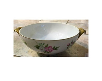 Lily Of The Valley And Dogwood Bowl, Antique Bowl, Lily Of The Valley China
