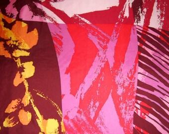 Jammers @Leufgen vintage scarf, geometric print, multicolored