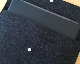 Merino Wool Felt Laptop Case