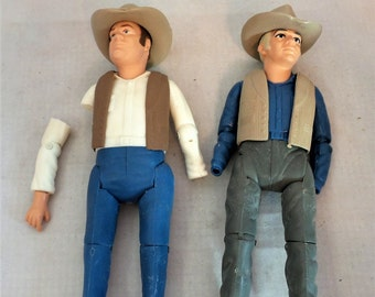 Vintage American Character Hoss and Ben Dolls