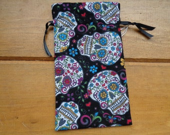 Day of the Dead  Tarot or Magical Purpose Bag