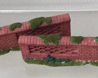 Dollhouse Miniature Resin Brick Wall (BP)
