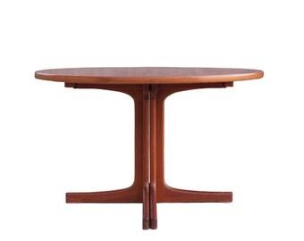 Expandable Mid Century Dining Table - Karl-Erik Ekselius J.O. Carlsson