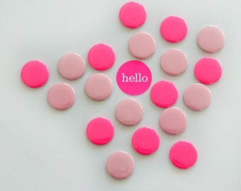 Magnets Neonpink Pink 8 Set