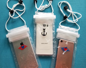 Waterproof Phone Case - Keep it Dry Pouch - Waterproof Pouch - for Disney Cruise FE gift - Fish Extender Gift - DCL