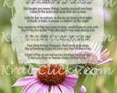 First Mothers Day Without Mom High Resolution Instant Download 8 x 10 Missing Mom Mother Mommy Mama Ma Poem Comforting Words