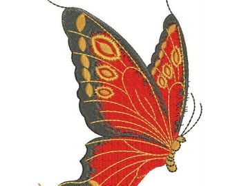 Butterfly Machine Embroidery Designs - Applique Embroidery Design 18
