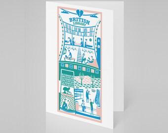 British Library, London card