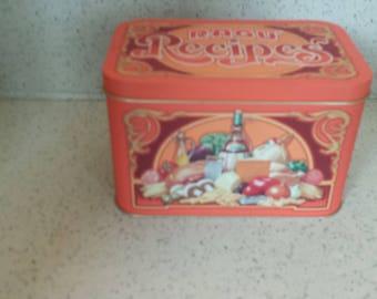 Ragu Recipe Box