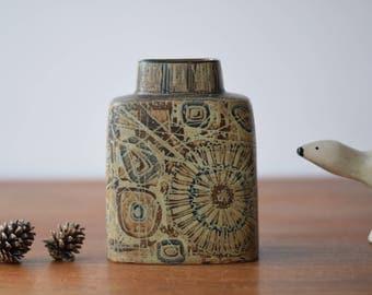 Royal Copenhagen - Pillow Vase - 870/3121 - Nils Thorsson - Danish midcentury pottery