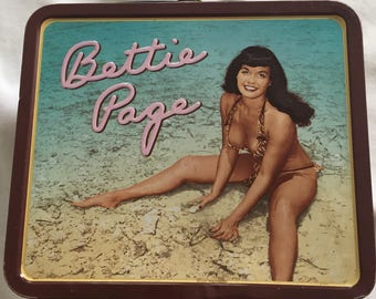 Bettie Page Lunchbox
