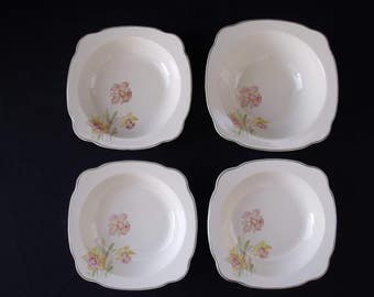 Paden City Pottery Jonquil Bowl set of 4
