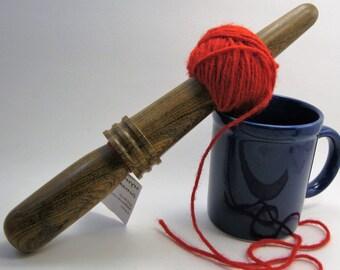 Bocote: Handturned Nostepinde (Yarn Ball Winder) JY-065