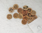 Wood Toys - Montessori Toys - Indigo - Travel Toys -  Montessori Gift Set - Airplane Toy - Natural Toys - Montessori Wood Toy - Child's Gift