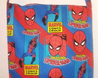 Spider-Man Inspired Toddler Size Messenger, Cross Body Bag