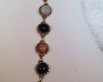 Multi Colored Stone Bracelet