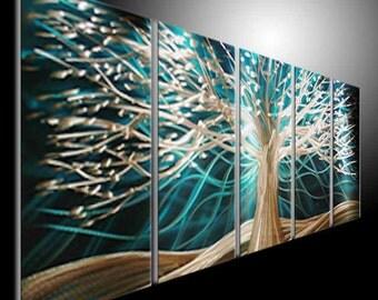 Original Abstract Wall .Metal Sculpture Tree. Metal Wall Art. Metal Painting Wall Art by TOMOUK