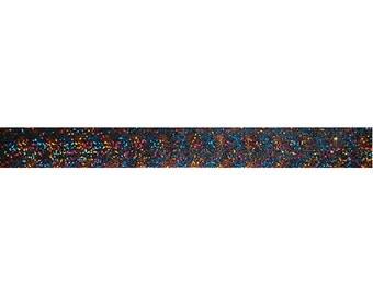 "Rainbow Sparkle - 5 Yards 5/8"" Glitter Elastic - 5/8-G-017"