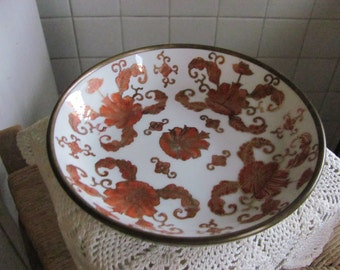 Japanese porcelain ware bowl - decorated in Hong Kong for Lord and Taylor