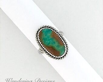 Royston ribbon turquoise etsy for Royston ribbon turquoise jewelry