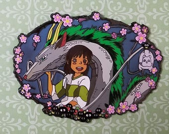 Spirited Away enamel pin