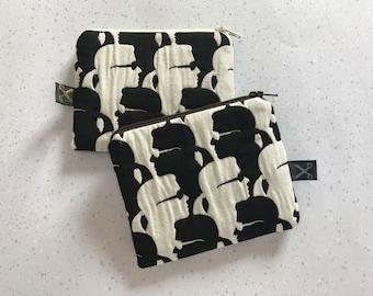 Mini zipper pouch Karl