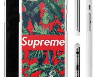 Supreme Floral iPhone Case