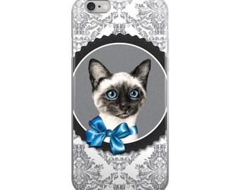 Siamese cat cell phone case, cat phone case,  siamese iPhone, cat mobile case, siamese cat mobile case, siamese cover, kitten cel phone case
