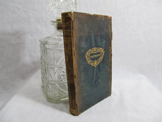 Sister Beatrice and Ardiane & Barbe Bleue (Two Plays), Maurice Maeterlinck, Dodd Mead, New York 1901 Softcover Leather First Edition