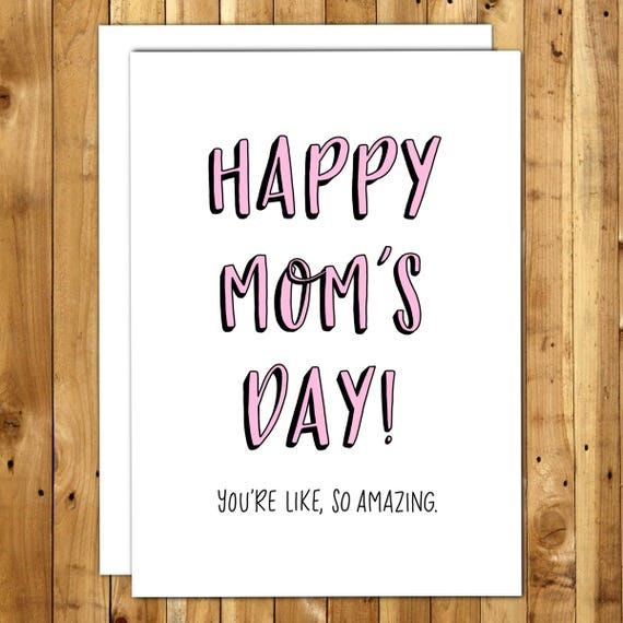 Mom Birthday Card From Daughter Mom Birthday Gift Mothers – Birthday Cards for Moms from Daughter