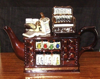 Paul Cardew Teapot - Teashop 1993