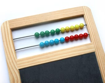 Slate Board with Abacus