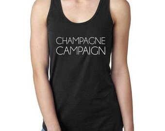 Champagne Campaign Women's Tank