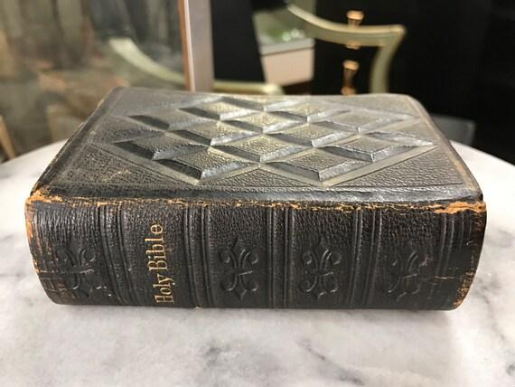 Antique miniature Bible
