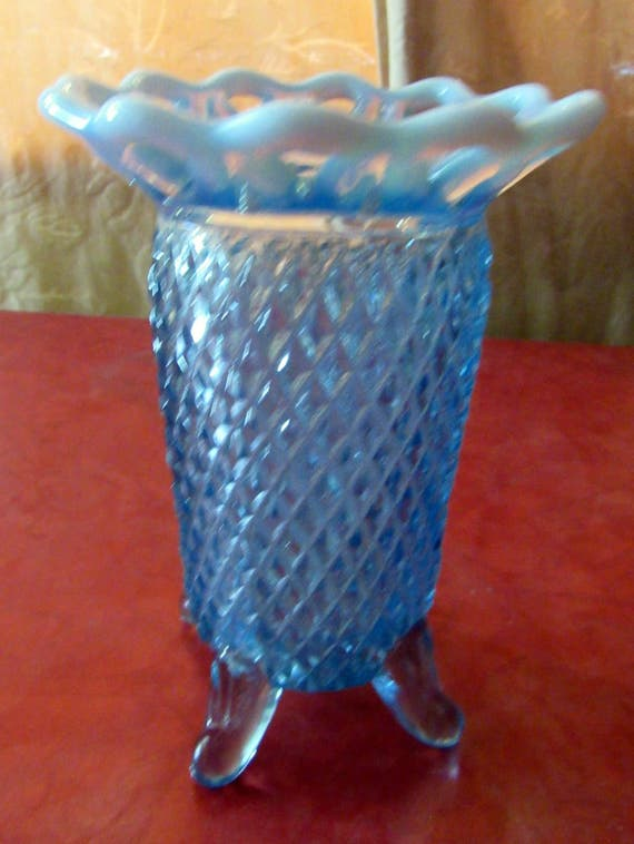 Blue Moonstone Vase