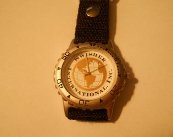 Mens clip on watch