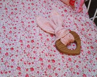 Bassinet Sheet Crib Sheet Moses Basket Sheet  Handmade by Kittyandzac Australia