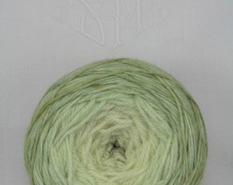 Hand-dyed yarn - sock yarn - superwash - merino - dyed-to-order - TILLEUL