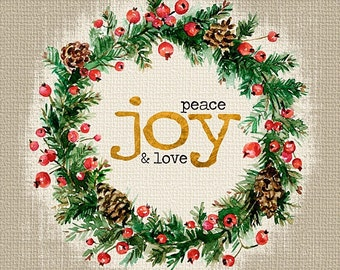 MA2170 - Peace, Joy & Love - 12 x 12