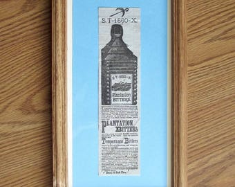 Drakes Plantation Bitters - Newspaper Ad - WOW!
