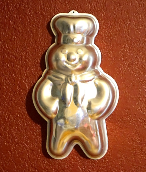 Pillsbury Doughboy Character Cake Pan Wilton 502 704