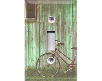 Country Rustic - Bicycle Light Switch Cover