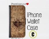 iphone 5 wallet case , iphone 5s wallet case , iphone 5c wallet case , iphone 5 case , iphone 5s case , iphone 5c case - Harry Potter C